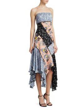 Sabrina Patchwork Dress by Cinq à Sept
