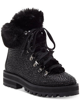 Norina Embellished Hiker Booties by Jessica Simpson