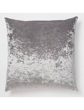 Crushed Velvet Euro Pillow by Dormify