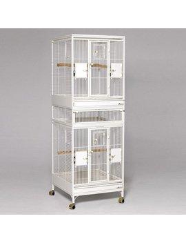 Multi Vista Vertical Bird Cage by Finch Supplies