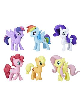 My Little Pony Meet The Mane 6 Ponies Collection by My Little Pony