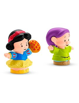 Fisher Price Little People Disney Princess, Snow White & Dopey Figures by Fisher Price