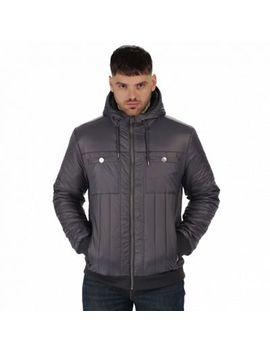 Regatta   Grey 'withington' Puffer Jacket by Regatta