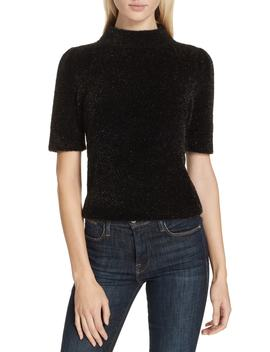 Metallic Fuzzy Sweater by Kate Spade New York