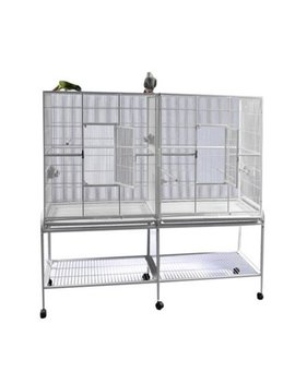 A And E Cage Co. Double Flight Bird Cage 16421 by Bird Cages