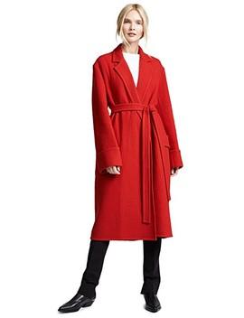 Belted Blanket Coat by Helmut Lang