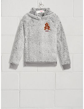 Arizona State University Sherpa Raglan Pullover by Victoria's Secret