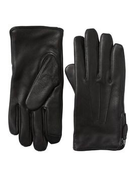 Moto Zip Leather Glove by Banana Repbulic