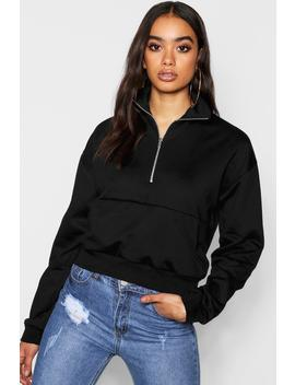 High Neck Pocket Detail by Boohoo