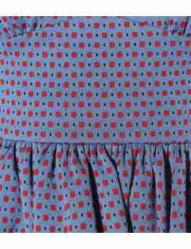 Cotton Blend Jacquard Dress by Miu Miu