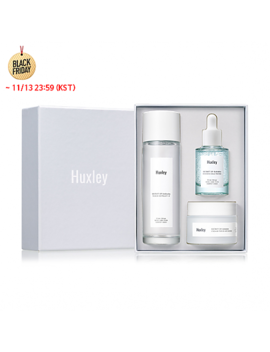 [Huxley] Hydration Trio Set (Toner Extract It 120ml + Essence Grab Water + Cream Fresh And More) by Style Korean