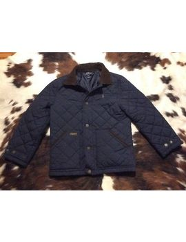 Ladies Mens Polo Ralph Lauren Quilted Winter Thermal Jacket Coat Size M Blue by Ebay Seller