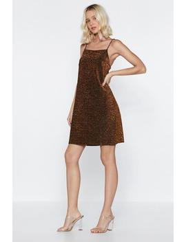 All The Glitter And The Glamor Mini Dress by Nasty Gal