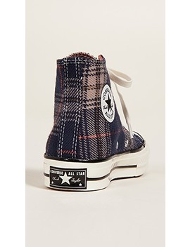 Chuck 70 Plaid High Top Sneakers by Converse
