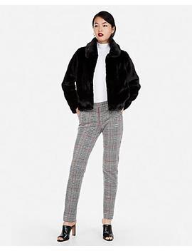 Petite Faux Fur Jacket by Express