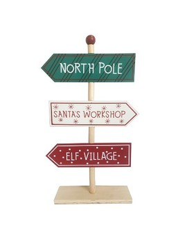 North Pole Standing Sign   Wondershop™ by Shop This Collection