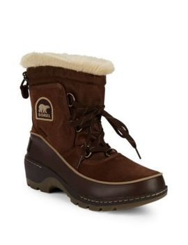 Tivoli Iii Faux Fur & Suede Snow Boots by Sorel