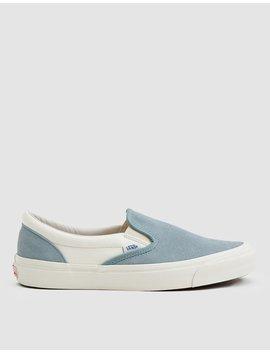 Og Classic Slip On Lx Sneaker In Slate/Marshmallow by Vault By Vans