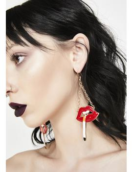 Turn Me To Ashes Earrings by Ciel