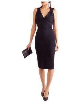 Victoria, Victoria Beckham Knee Length Dress   Dresses by Victoria, Victoria Beckham
