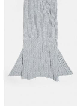 Gray Mermaid Blanket by Missguided