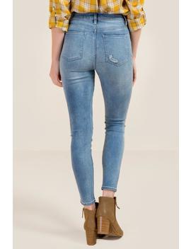 Harper Heritage High Rise Light Wash Jeans by Francesca's