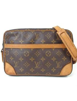 Trocadero Monogram 27 Canvas Cross Body Bag by Louis Vuitton