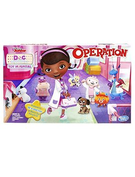 Operation Game: Disney Junior Doc Mc Stuffins Toy Hospital Edition by Hasbro