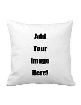 "Shop&Three Custom Design Photos Or Text Outdoor/Indoor Throw Pillowcase,Personalized Pet Photo Pillow, Love Photo Throw Pillow,Wedding Keepsake Throw Pillow 18"" X 18"" by Shop&Three"