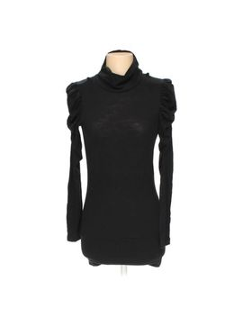 Baby Phat Women's  Shirt, Size S,  Black,  Basic,  Polyester, Rayon, Spandex by Baby Phat