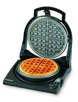 Chef's Choice 8400100 Chef's Choice 840 B Waffle Pro Express Waffle Maker, Classic Belgian, Black by Chef's Choice