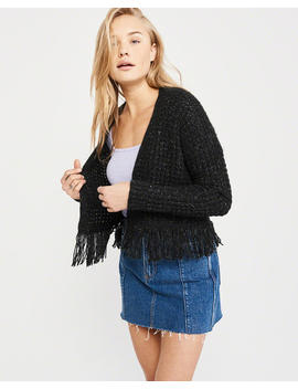 Fringe Cardigan by Abercrombie & Fitch