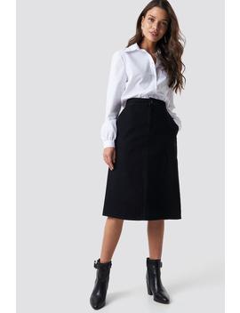 Cargo Midi Skirt by Na Kd Trend