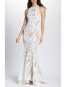 Ester Halter Mermaid Gown by Bronx And Banco