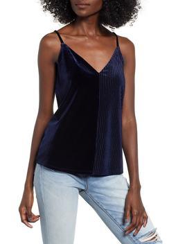 Velvet Stripe Camisole by Socialite