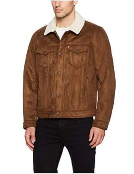 Levis Men's Trucker Faux Shearling Sherpa Lined Jacket   S Small Retail $200 by Levi's