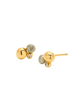 Vienna Shimmer Stud Earrings by Gorjana