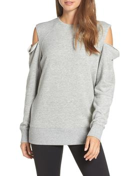 Tear It Up Cold Shoulder Tunic by Zella