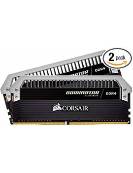 Corsair Cmd16 Gx4 M2 C3333 C16 Dominator Platinum16 Gb (2x8 Gb) Ddr4 3333 (Pc4 26600) C16 Desktop Memory by Corsair