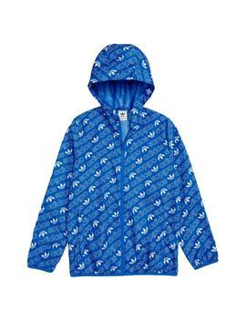 Logo Hooded Jacket by Adidas Originals