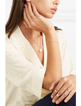 14 Karat Gold Bracelet by Stone And Strand