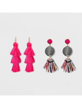 Sugarfix By Bauble Bar Whimsical Drop Earring Gift Set by Sugar Fix By Bauble Bar