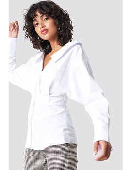 Wide Neck Ls Shirt by Na Kd Trend
