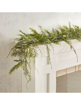 Green Faux Pine 6' Garland by Pier1 Imports