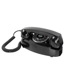 Wild & Wolf Princess Classic Corded Telephone, Black by Wild & Wolf