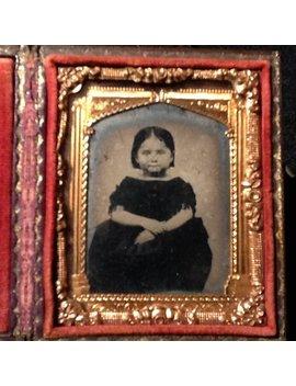 Antique Daguerreotype Photo In Case by Etsy