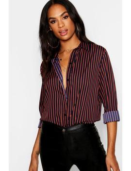 Tall Striped Shirt by Boohoo
