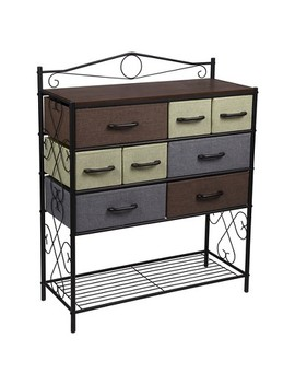 Household Essentials® 8 Drawer Storage Cabinet With Bottom Shelf by Household Essentials