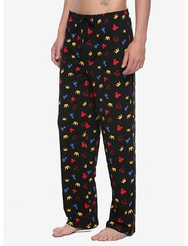 Kingdom Hearts Icons Guys Pajama Pants by Hot Topic