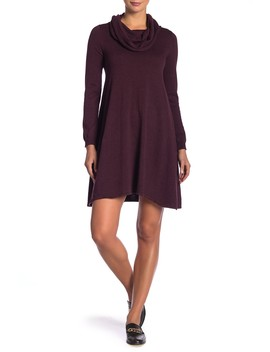 Cowl Neck Sweater Dress by Max Studio